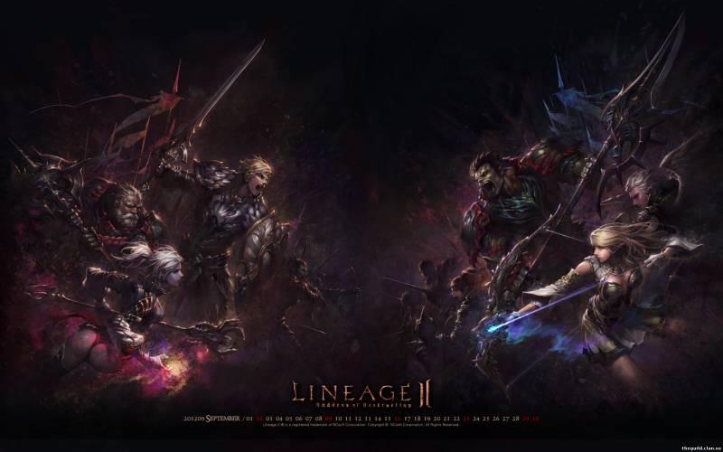 Lineage 2 обои новые