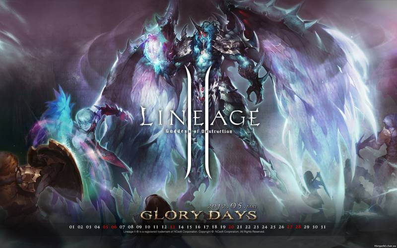 Обои Glory Day LineAge 2