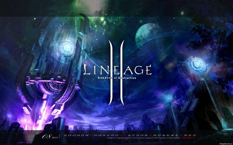Обои Lineage 2: Goddess of Destruction - Богиня разрушения